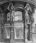 Drugstore Art Nouveau Style of Architecture
