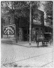 The golden age of the American drugstore circa 1890