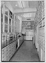 Drugstore dispensatory from the 1920